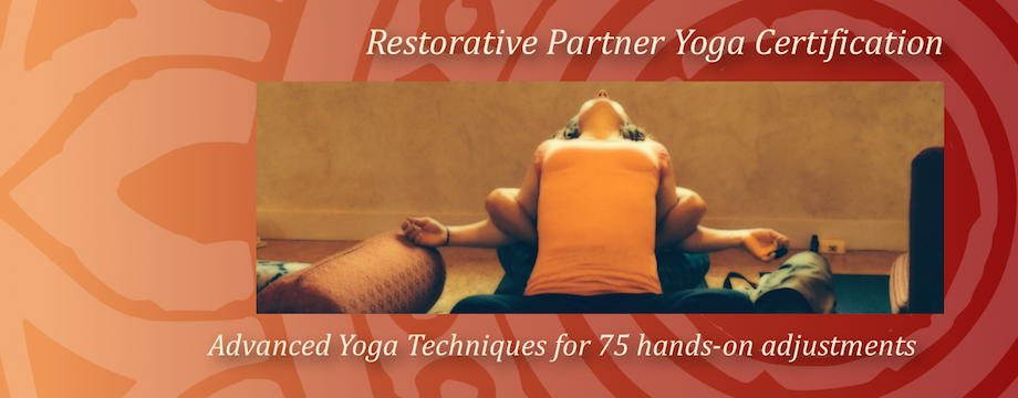 Restorative Partner Yoga