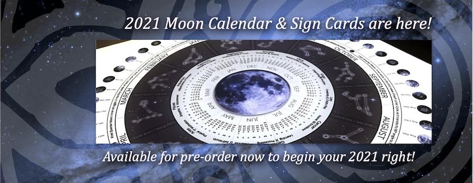 2021 Moon Cycle Calendar is HERE!
